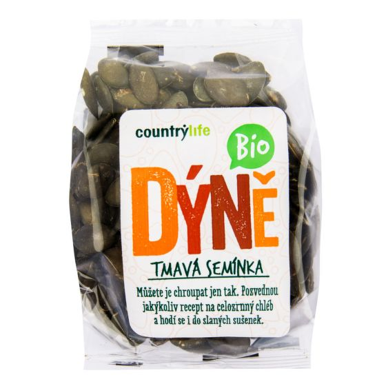 Pumpkin seeds dark EU organic 100 g   COUNTRY LIFE