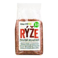 Red rice unhulled organic 500 g   COUNTRY LIFE