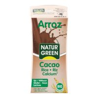 Rice drink chocolate organic 200 ml   NATURGREEN