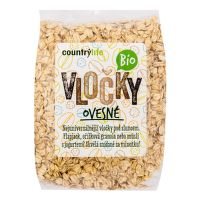 Oatmeal Organic 500 g   COUNTRY LIFE