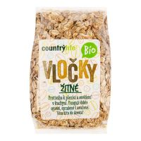 Rye flakes organic 250 g   COUNTRY LIFE