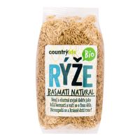 Brown basmati rice organic 500 g   COUNTRY LIFE