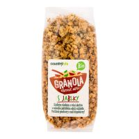 Crunchy apple muesli organic 350 g   COUNTRY LIFE