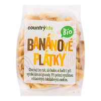 Banana chips with honey organic 100 g   COUNTRY LIFE