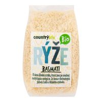White basmati rice organic 500 g   COUNTRY LIFE