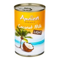 Coconut milk 9% fat organic 400 ml   AMAIZIN