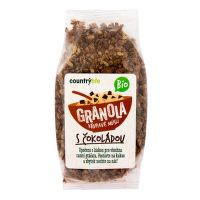 Crunchy chocolate muesli organic 350 g   COUNTRY LIFE