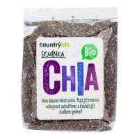 Chia seeds organic 300 g   COUNTRY LIFE