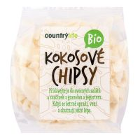 Coconut chips organic 150 g   COUNTRY LIFE