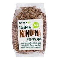 Hemp seeds unhulled organic 250 g   COUNTRY LIFE