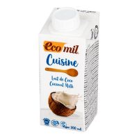 Coconut-Based Cream Alternative 7 % fat organic 200 ml   ECOMIL