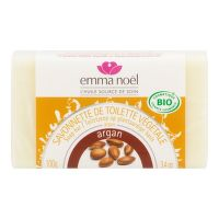 Plant Soap Bar Argan oil organic 100 g   EMMA NOËL