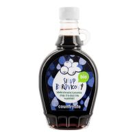 Blueberry syrup organic 250 ml   COUNTRY LIFE