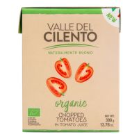 Tomatoes whole in tomato juice organic 500 g   VALLE DEL CILENTO