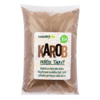 Carob powder dark organic 500 g   COUNTRY LIFE