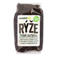 Natural black rice organic 500 g   COUNTRY LIFE