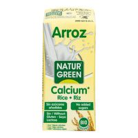 Rice drink with calcium organic 200 ml   NATURGREEN