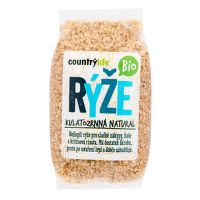 Natural round grain rice organic 500 g   COUNTRY LIFE