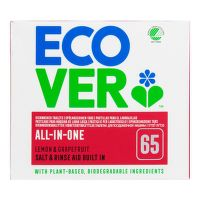 ECOVER Dishwasher tablets - All in one Nordic Swan 1,3 kg