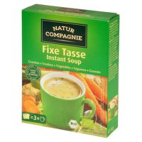 Vegetable instant soup organic 54 g   NATUR COMPAGNIE