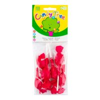 Cherry lollipops gluten-free organic 7x10 g   CANDY TREE