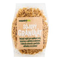 Soya meat granules 100 g   COUNTRY LIFE